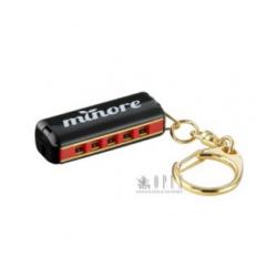 Kulcstartó, szájharmonika Hering, mini 4 cm.