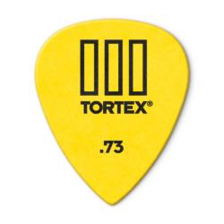 Pengető Dunlop 0,73 Tortex III, sárga