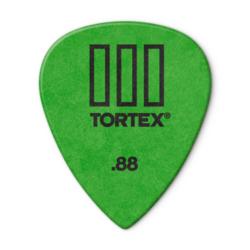 Pengető Dunlop 0,88 Tortex III, zöld