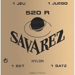 Klasszikus gitárhúrkészlet Savarez 520R