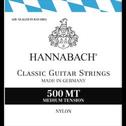 Klasszikus gitárhúrkészlet Hannabach 500MT