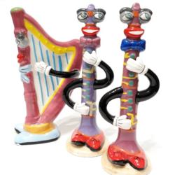Só és borsszóró, különböző hangszerek