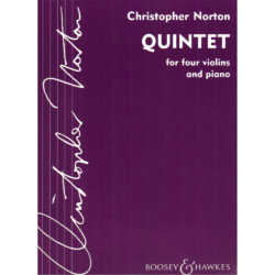 QUINTET FOR FOUR VIOLINS AND PIANO
