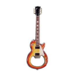 Üvegnyitó, sörnyitó, elektromos gitár alakú, mágneses