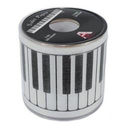 Zongorabillentyű mintás toalettpapír 1 tekercs