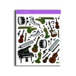 Matrica, különböző hangszeres motívummal