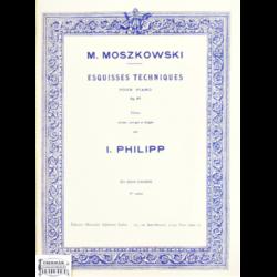 ESQUISSES TECHNIQUES OP.97.VOL.2.POUR PIANO