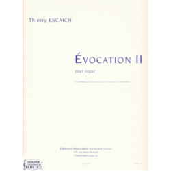 ÉVOCATION II.POUR ORGUE