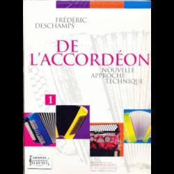 DE L'ACCORDÉON NOUVELLE APPROCHETECHNIQUE VOL.1.