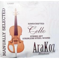 Csellóhúr Stradivari Arakoz 4/4-es C
