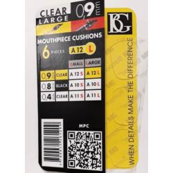 Fogvédő gumi BG átlátszó, 0,9 mm.
