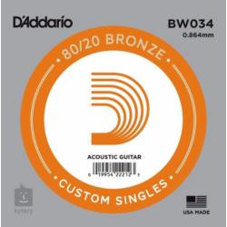 Akusztikus gitárhúr D'Addario  BW034