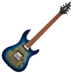 Cort elektromos gitár, kobaltkék burst