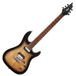 Cort elektromos gitár, nyers burst