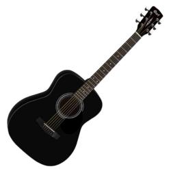 Akusztikus gitár Cort AF510BKS