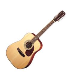 Elektro-akusztikus gitár Cort balkezes