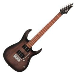 Cort elektromos gitár, fekete burst
