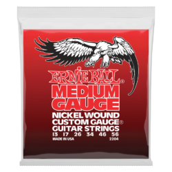 Elektromos gitárhúrkészlet  Ernie Ball nickel wound medium wound G 13-56