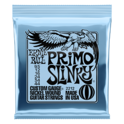 Elektromos gitárhúr készlet Ernie Ball nickel wound primo slinky 9.5-44