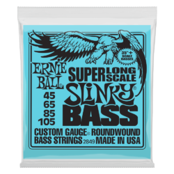"Basszusgitár húrkészlet Ernie Ball flatwound bass group 38"" 45-100"