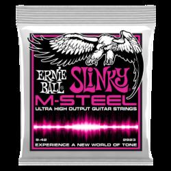 Elektromos gitárhúr m-steel super slinky 9-42