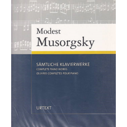 Musorgsky, Complete Piano Works