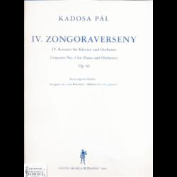 IV.ZONGORAVERSENY OP.63.KÉT ZONGORÁS KIADÁS