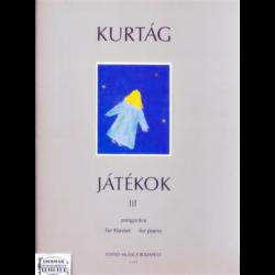JÁTÉKOK III.ZONGORÁRA