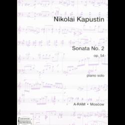 SONATA NO. 2. OP. 54. PIANO SOLO