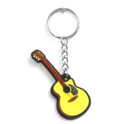 Kulcstartó akusztikus gitár kivitelben