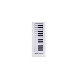 Radír, zongorabillentyűs