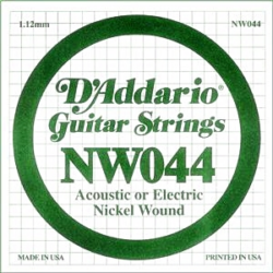 Elektromos gitárhúr D'Addario NW044