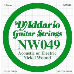 Elektromos gitárhúr D'Addario NW049