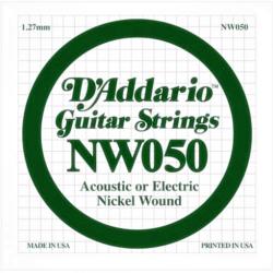 Akusztikus gitárhúr D'Addario  NW050