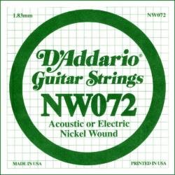 Elektromos gitárhúr D'Addario 0,72