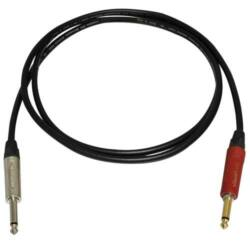 Bespeco Neutrik silent + egyenes jack, 9m-es kábel