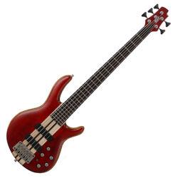 Cort el.basszusgitár 5 húros, matt vörös
