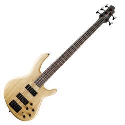 Cort el.basszusgitár 5 húros, Aktív, natúr