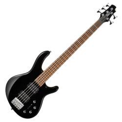 Cort el.basszusgitár, 5 húros, fekete