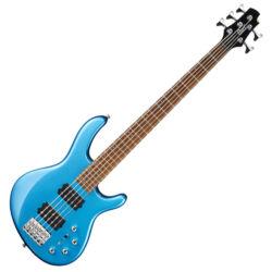 Cort el.basszusgitár, 5 húros, kék