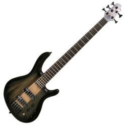 Cort el.basszusgitár, áttetsző fekete burst