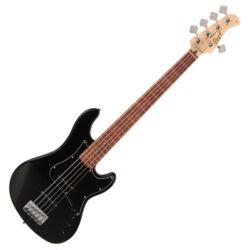 Cort el.basszusgitár 5 húros, JJ, fekete