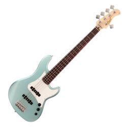 Cort el.basszusgitár, 5 húros, tengerhab-zöld