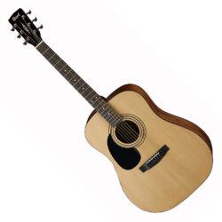 Cort akusztikus gitár, balkezes, matt natúr