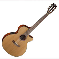 Cort klasszikus gitár elektronikával, natúr