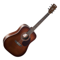 Cort akusztikus gitár, barna