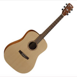 Cort akusztikus gitár, lakkozatlan natúr