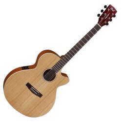 Cort akusztikus gitár, Fishman EQ, matt natúr