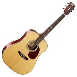Cort akusztikus gitár, natúr