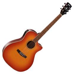 Cort akusztikus gitár elektronikával, Vintage Burst